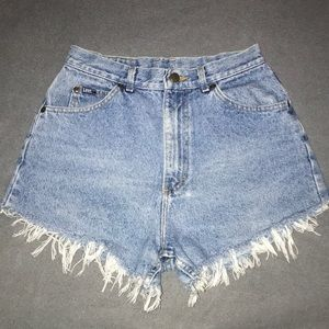 Vintage Highwaisted Lee Shorts!